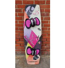 Cabrinha Siren Womens Kitesurf Board 133cm + H1 Footpads (Second Hand)