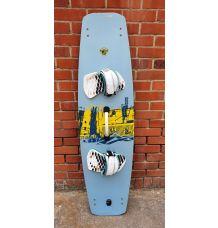 Naish Haze Kitesurf Board 144cm + Naish Footpads (Second Hand)