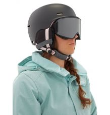 Anon Raven Women's Snowboard Helmet (Black Mauve)