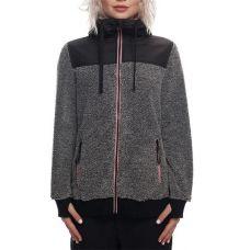 686 Womens Polar Zip Fleece Hoody (Black) - Wetndry Boardsports