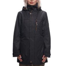 686 Womens Spirit Insulated Snowboard Jacket 2019 (Black Herringbone) - Wetndry Boardsports
