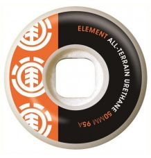Element Section Skate Wheel Orange (50mm)