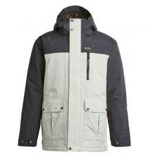 Airblaster Grampy 3000 Snowboard Jacket (Bone)