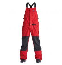 Airblaster Stretch Krill Bib (Dark Red)