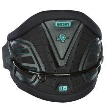 ION Apex Kitesurf Harness (Black/Pisasio)