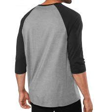 Dakine Walker 3/4 Baseball T-Shirt (Black/Grey)