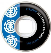 Element Section Skate Wheel Blue/Black (54mm)