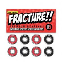 Fracture Skateboard Abec 5 Bearings