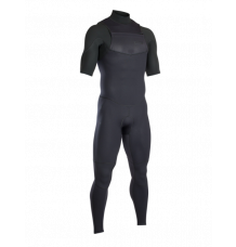 ION Onyx Element Short Sleeve Steamer 2/2mm FZ Wetsuit (Black) 2020