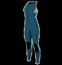 O'Neill Women's Bahia 1.5mm Sleeveless Wetsuit (French Navy/Bridget) 2020