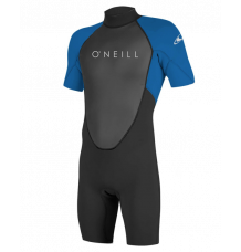 O'Neill Spring Reactor Wetsuit 2mm (Black/Ocean) - Wetndry Boardsports