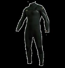 O'Neill Psycho One 3/2mm Chest Zip Wetsuit (Dark Olive) 2020