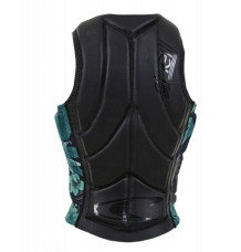 O'Neill Womens Slasher Impact Vest (Dark Glide/Black Faro)