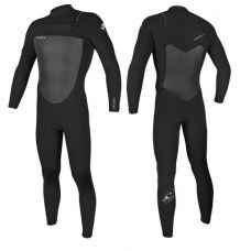 O'neill Epic 5/4mm Chest Zip Wetsuit (Black/Black)