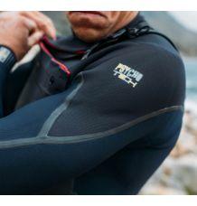 O'Neill Psychotech 5/4+ Chest Zip Wetsuit (Black/Black) 2020