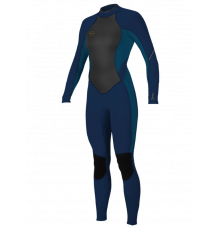 O'Neill Womens Bahia 3/2mm Wetsuit (Abyss/French Navy) 2020