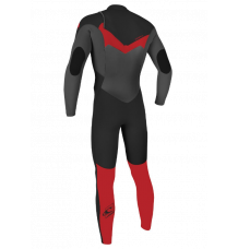 O'Neill Youth Epic 5/4mm Chest Zip Wetsuit (Black/Graph/Red) 2020