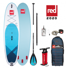 """Red Paddle Co, 10'6 x 32"""" Ride MSL SUP Package 2020 - Alloy Package"""