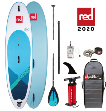 """Red Paddle Co, 10'7"""" x 33"""" WindSUP Package 2020 - Alloy"""