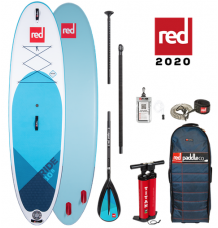 """Red Paddle Co, 10'8"""" x 34"""" Ride MSL SUP Package 2020 - Alloy Package"""