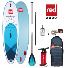 """Red Paddle Co, 9'8"""" x 31"""" Ride MSL SUP Package 2020  - Alloy Package"""