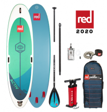"""Red Paddle Co, 10'8"""" x 34"""" Activ Yoga Package 2020 - Alloy"""