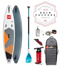 """Red Paddle Co 10'6"""" x 24"""" Max Race SUP Inflatable Package 2019"""