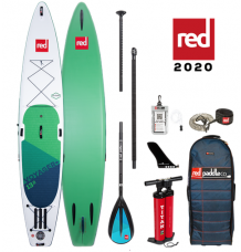 """Red Paddle Co, 13'2"""" x 30"""" Voyager Package 2020 - Alloy"""