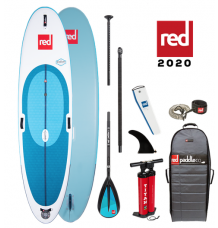 """Red Paddle Co, 10'7"""" x 33"""" Windsurf Package 2020 - Alloy"""