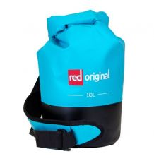 Red Original Waterproof Roll Top Bag (Aqua Blue) - 10L
