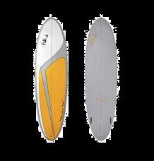 "Tiki Custom 7'2"" Flowbird Surfboard (Mango)"