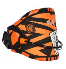 RRD Stark Kitesurf Harness (Black/Orange) - Wetndry Boardsports