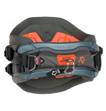 ION Apex Kitesurf Waist Harness (Black/Phantom/Orange)