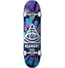 Element Complete Dye Trippin Skateboard (7.75) - Wetndry Boardsports