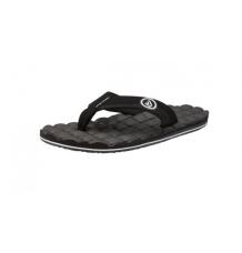 Volcom Recliner Sandal (Black/White)