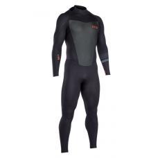 ION Strike Element 3.5/2.5mm Semidry BZ Wetsuit (Black) - Wetndry Boardsports
