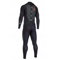ION Strike Element 3.5/2.5mm Semidry BZ Wetsuit (Black)