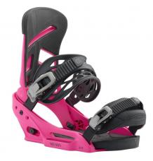 Burton Mission EST Snowboard Bindings 2019 (Pink) - Wetndry Boardsports