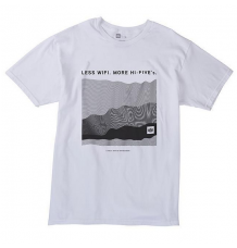 686 Hi-Five Tshirt (White) - Wetndrty Boardsports