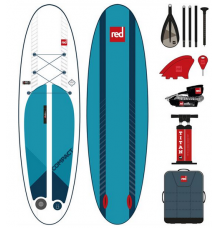 """Red Paddle Co, 9'6 x 32"""" Compact SUP Package 2020 - Wetndry Boardsports"""