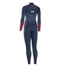 ION Womens Trinity Element 3/2mm FZ Wetsuit (Slate Blue)