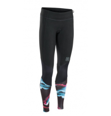 ION Womens Muse 1.5mm Neoprene Leggings (Black) - Wetndry Boardsports