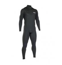ION Onyx Core Semidry 3/2mm FZ Wetsuit (Black) - Wetndry Boardsports