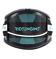 Ride Engine 3K Carbon Elite Waist Harness 2018 (Black/White) - Wetndry Boardsports
