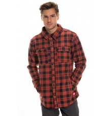 686 Sierre Fleece Flannel 2020 (Rusty Red)