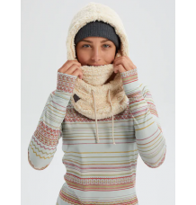 Burton Womens Lynx Fleece over Helmet Hood (Creme Brulee)
