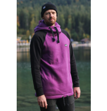 bro! chill n'shred hoodie (Black/Burgundy) - Wetndry Boardsports