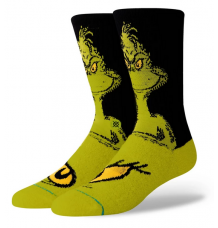 "Stance ""The Grinch"" Christmas Socks - Wetndry Boardsports"
