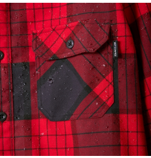 Dakine Reid Tech Flannel Shirt (Crimson)