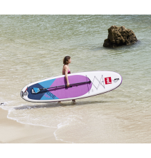 """Red Paddle Co, 10'6 x 32"""" Ride MSL Purple SUP Package 2020"""